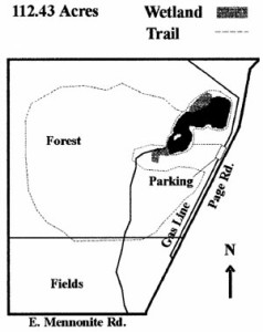 Map of the Molnar Property